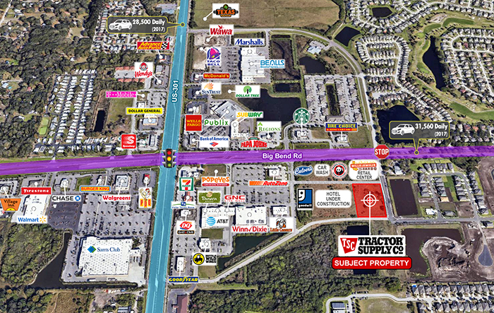 Brand New Construction Tractor Supply 15 Year Lease