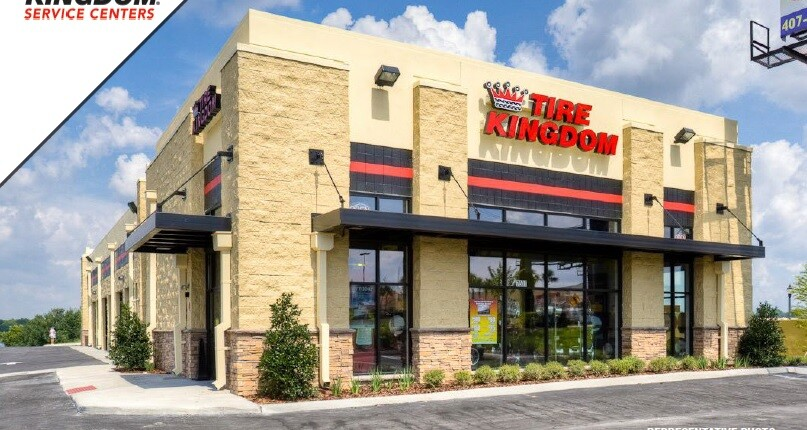Just Listed! Tire Kingdom in Bradenton, Florida