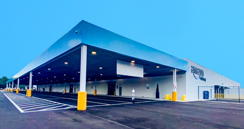 Net Leased Amazon Last Mile Distribution Center in Jacksonville, Florida