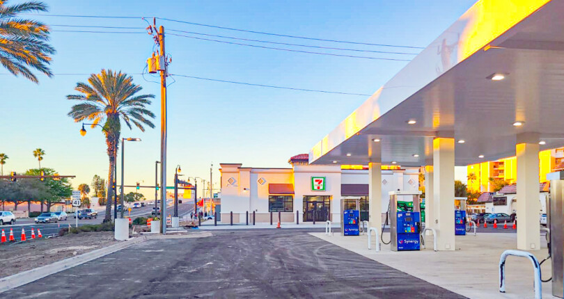 Check out the construction progress for this 7-Eleven in Venice, Florida!