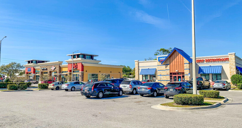 Just Listed! IHOP and Moe's Anchored Shopping Center in Pinellas Park, Florida!