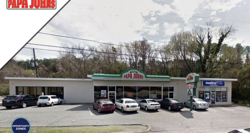 Just Closed! Papa John's Master Leased Retail Center