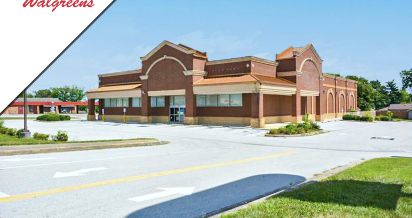 Just Listed! Dark Walgreens in Crossville, Tennessee