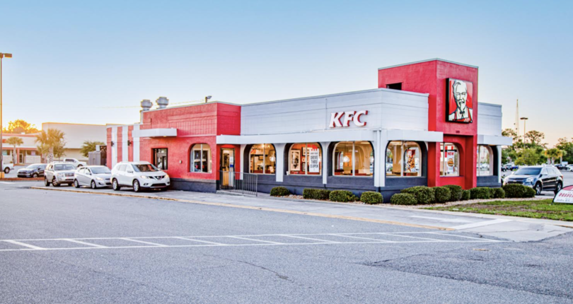 Just Listed! KFC NNN Lease in St Augustine, Florida