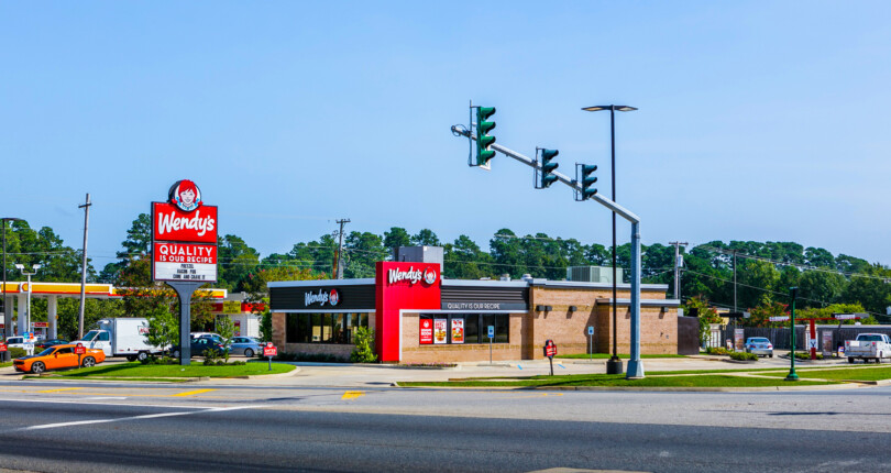 Just Listed! Wendy's with Very Strong Sales   Louisiana Tech University