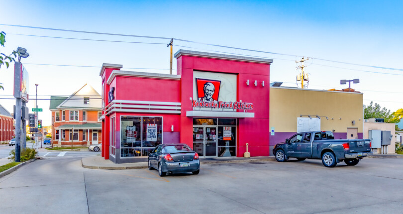 Just Closed! Kentucky Fried Chicken in Dubuque, Iowa