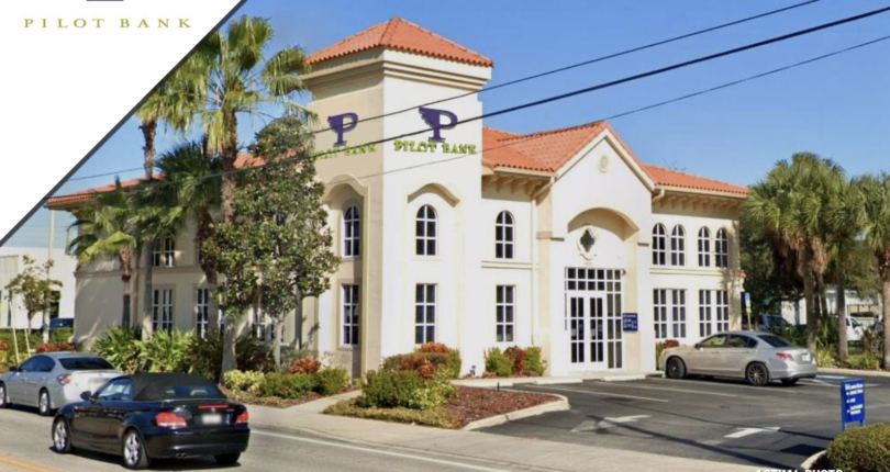 Just Listed! Pilot Bank NNN Lease in Tampa, Florida