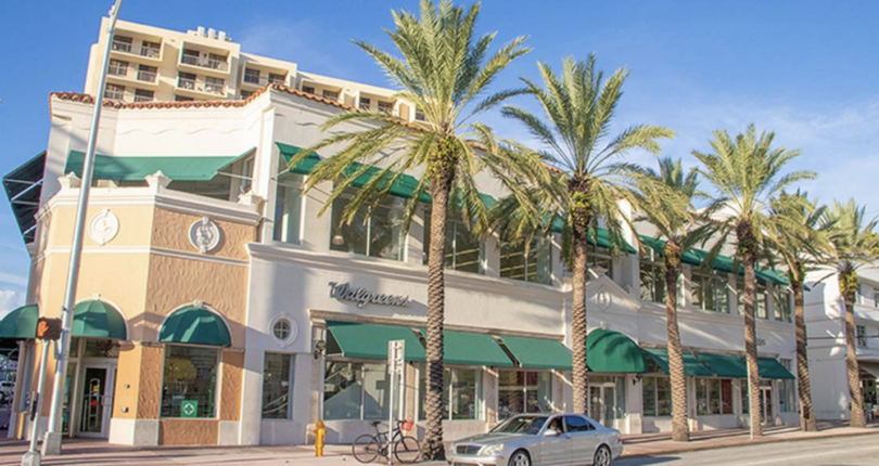 Steps away from Ocean Drive, Walgreens property in Miami Beach sells for $33 million