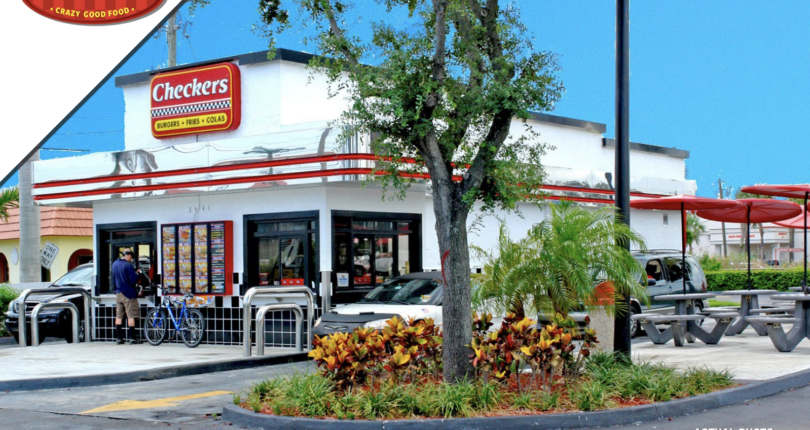 Just Closed! Checkers Drive Thru Restaurant in Pompano Beach, Florida