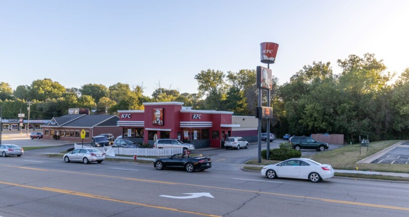 Check out this Kentucky Fried Chicken Fast Food Restaurant in Dubuque, Iowa!