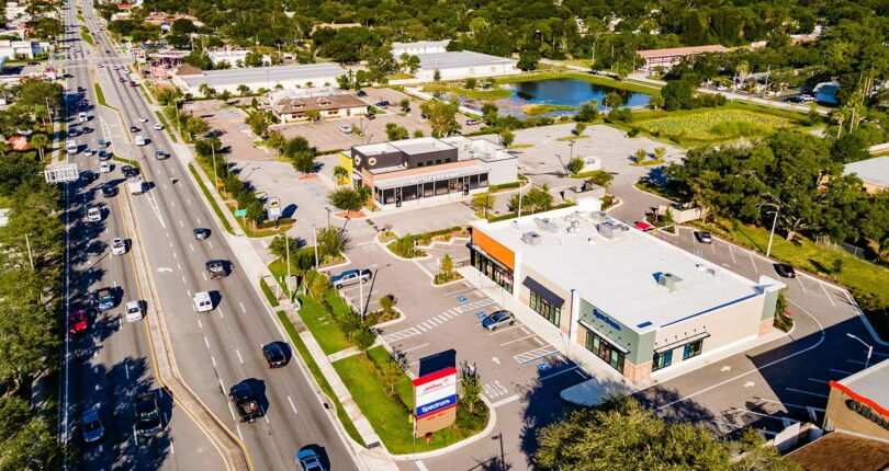 Just Listed! Jollibee Anchored Shopping Center in Pinellas Park, Florida!
